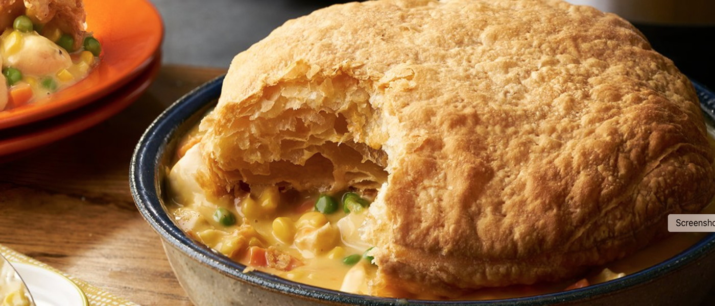 Chicken <br> Pot Pie